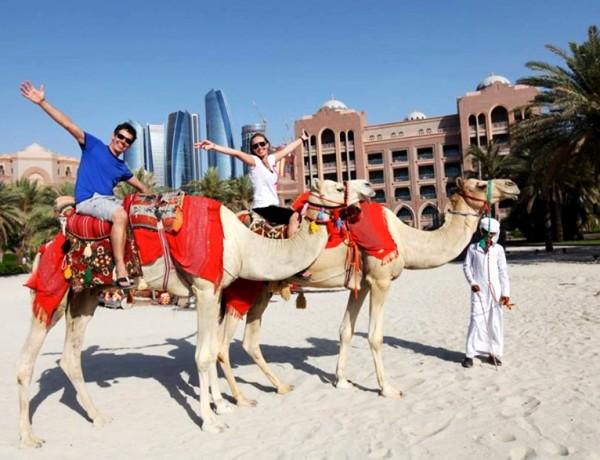 Chegando nos Emirados Árabes