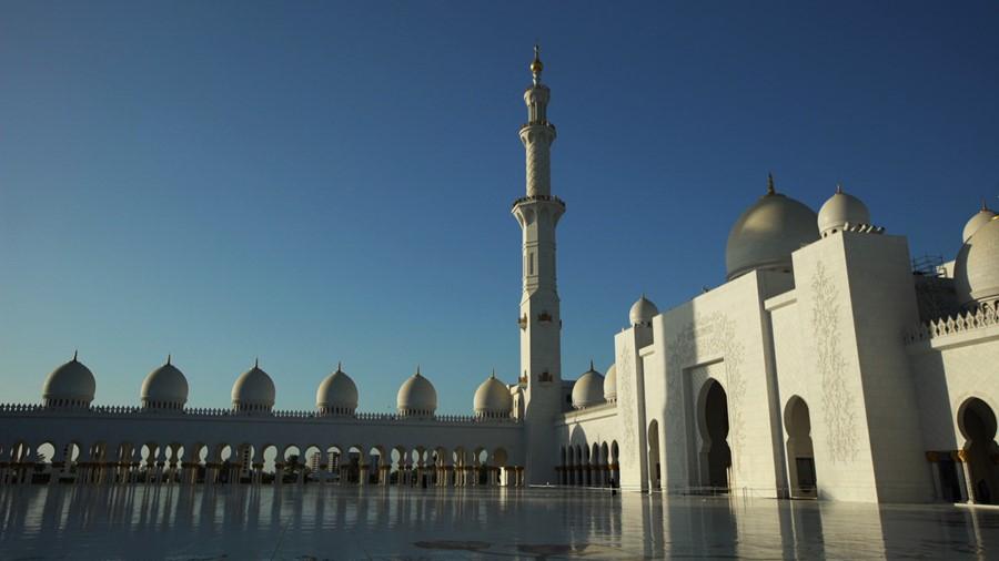 A mesquita Sheikh Zayed