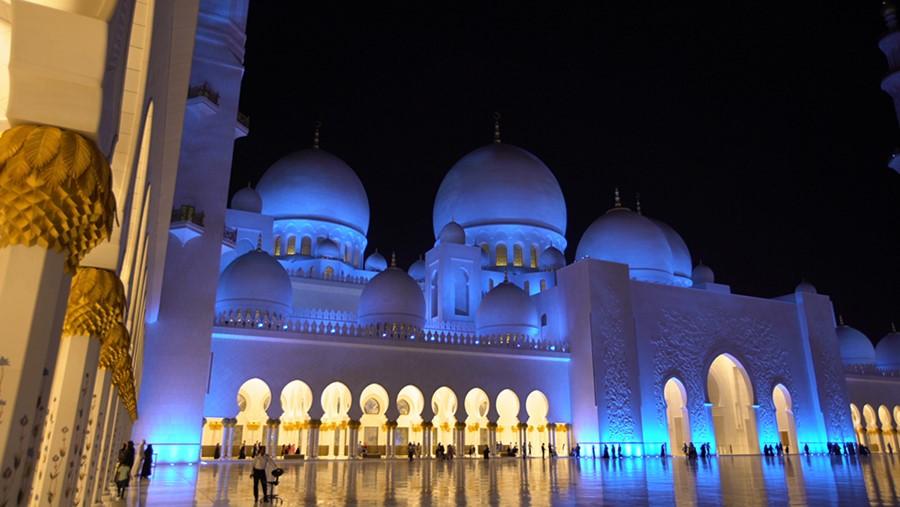 As luzes da mesquita