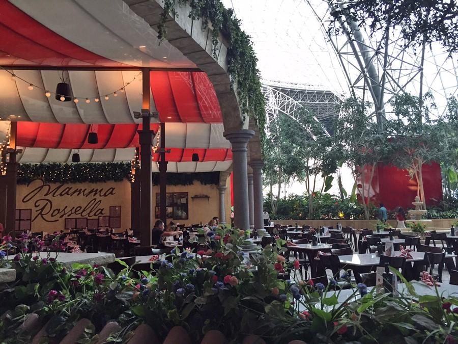 O restaurante Mamma Rosella