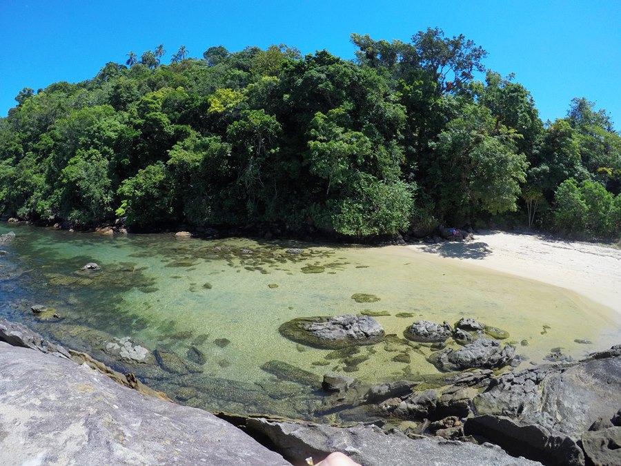 Ilha da Cotia praia aérea