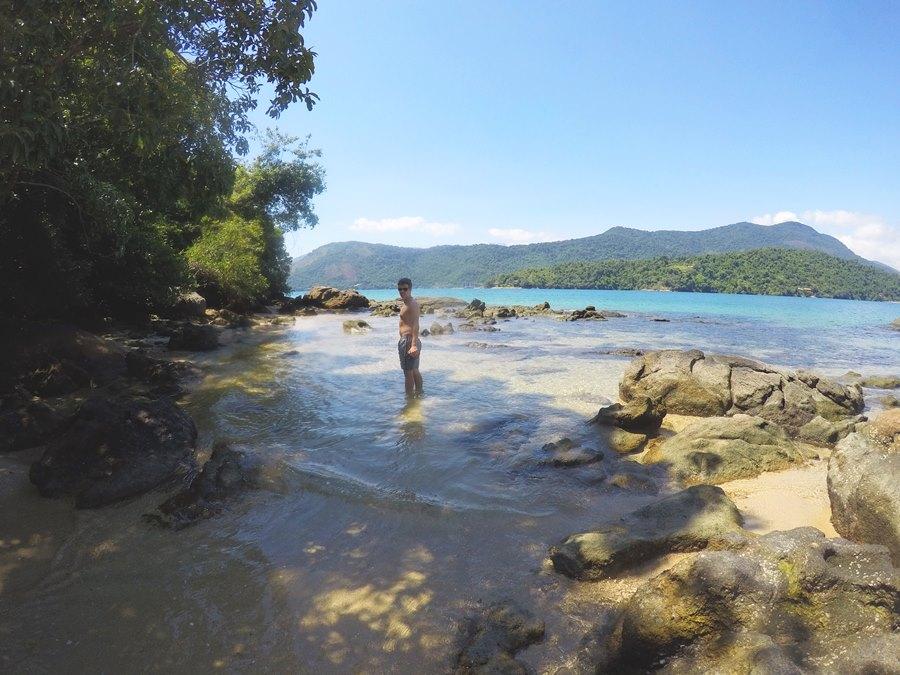 Ilha da Cotia praia