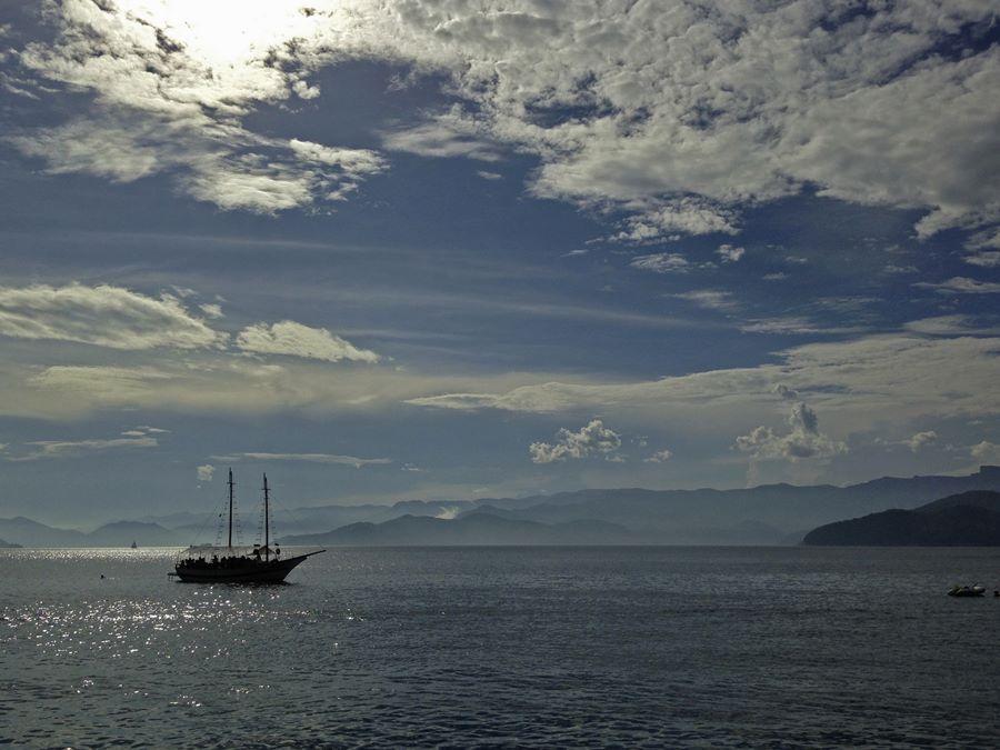 Ilhas Paradisíacas Ubatuba - Vista da baia da Ilha Anchieta