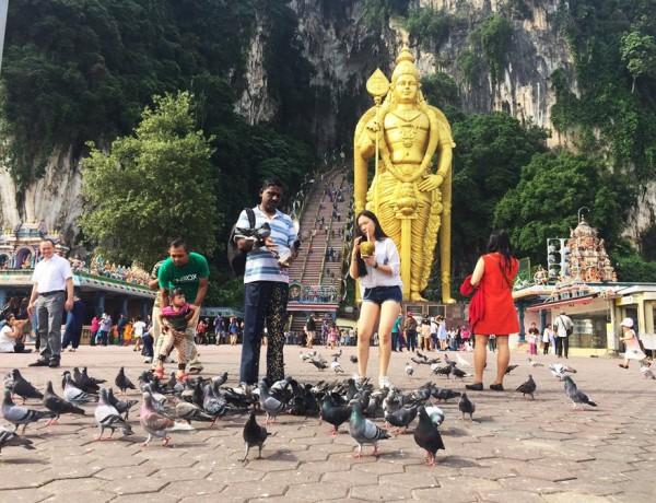 Um lugar muito interessante para conhecer na Malásia, no sudeste asiático