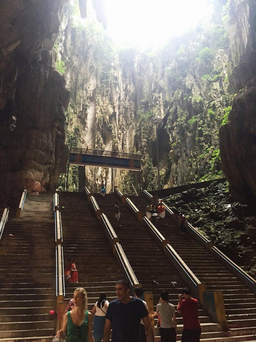 Penang Malasia - Batu Caves Templo - abertura