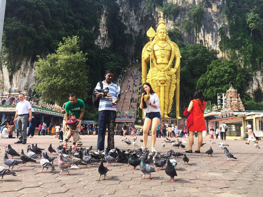 Penang Malasia - Batu Caves Templo