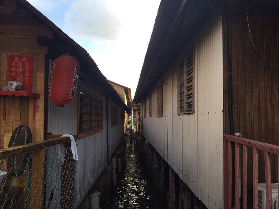 Penang Malasia - Chew Jetty Cidade Flutuante Casa