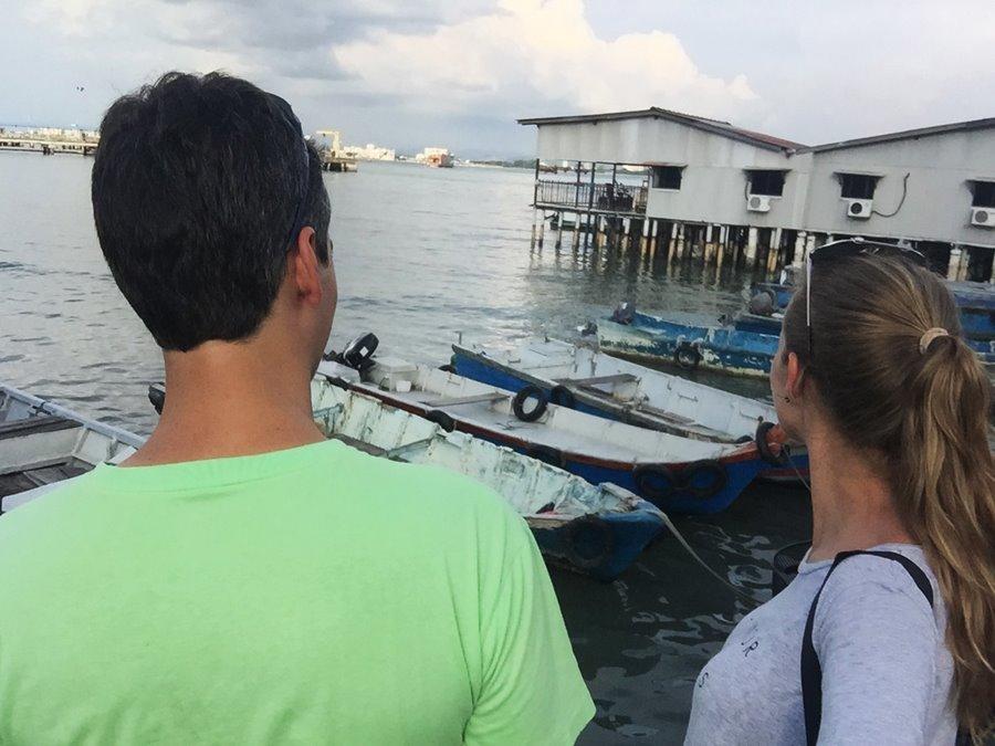 Penang Malasia - Chew Jetty Cidade Flutuante Pescadores