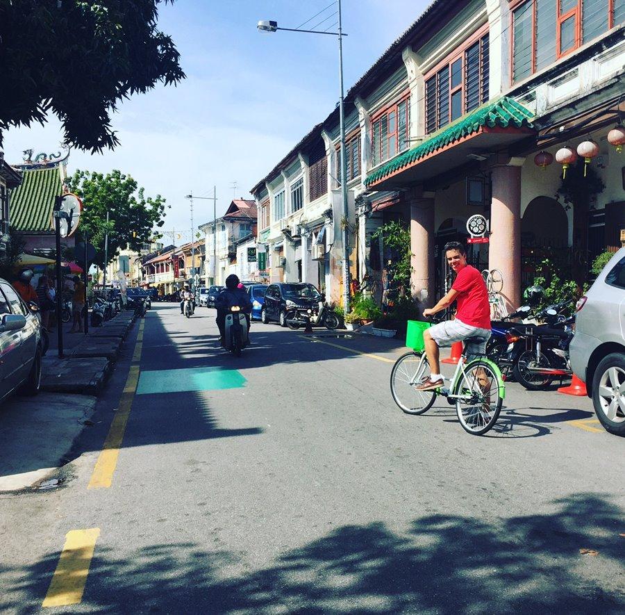 Penang Malasia - George Town Bicicletas