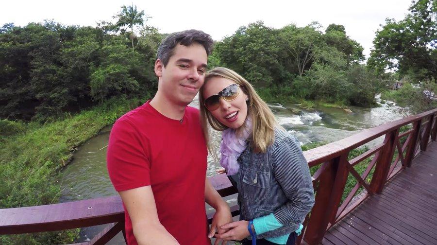 Gisella e Fernando no Pau D'Alho
