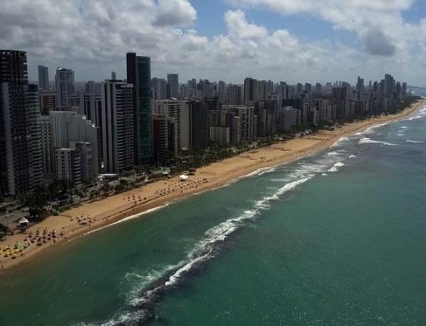 Conhecendo a Praia da Boa Viagem no centro de Recife