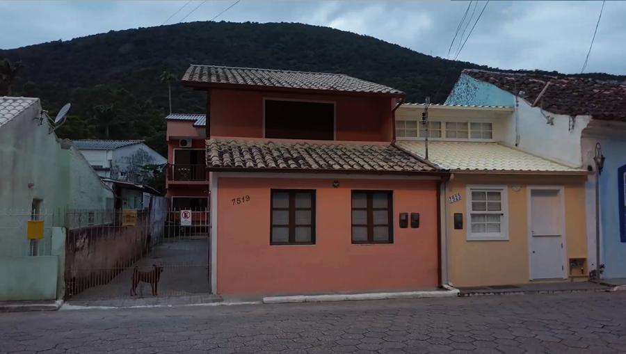 Casas coloridas - Ribeirão da Ilha - Açores Florianópolis Santa Catarina