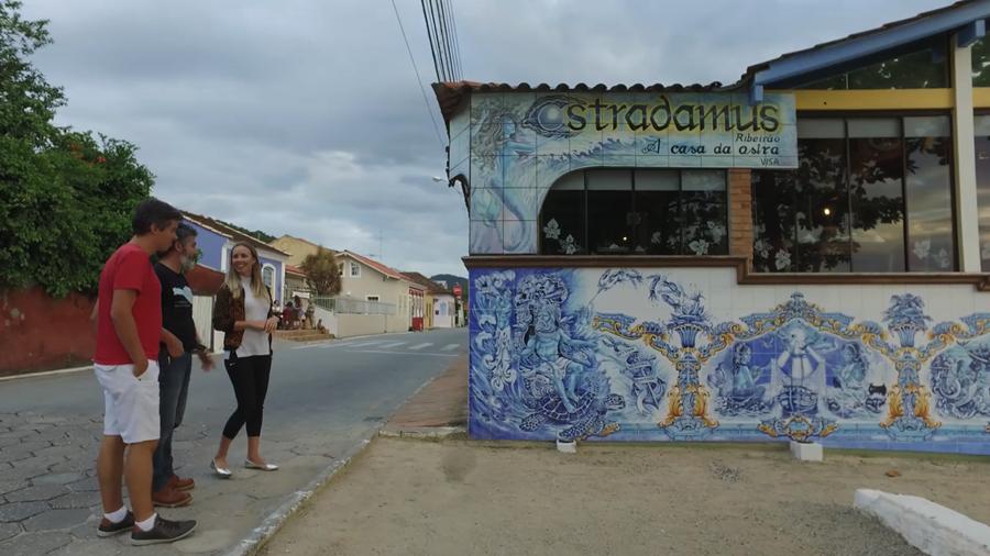 Jaime conosco apresentando o Ostradamus Florianópolis Santa Catarina