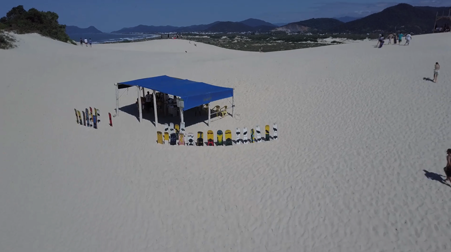 Praia da Joaquina - equipamentos para aluguel - Florianópolis Santa Catarina