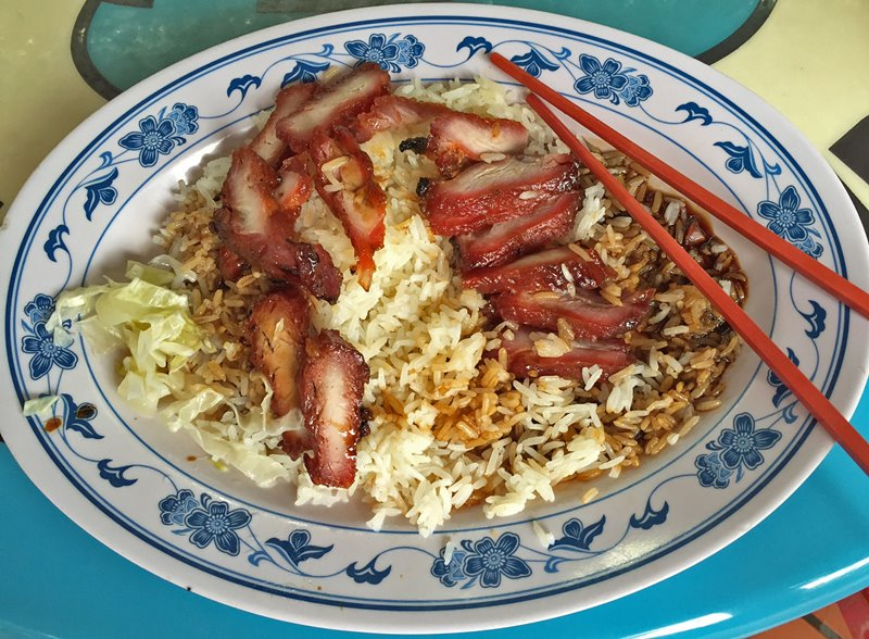 Char Siew - comida Singapura