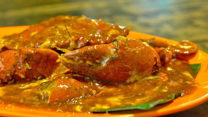 Chilly Crab - comida singapura