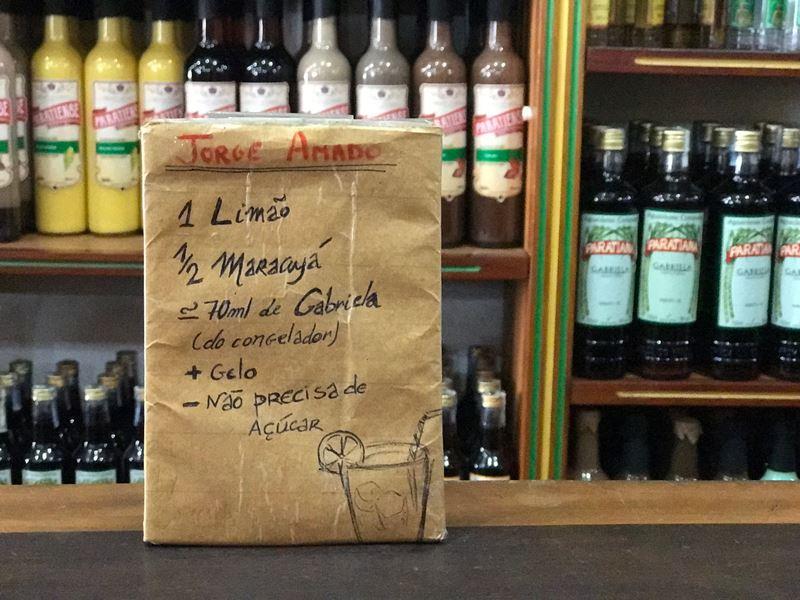 Paraty - caipirinha Jorge Amado receita