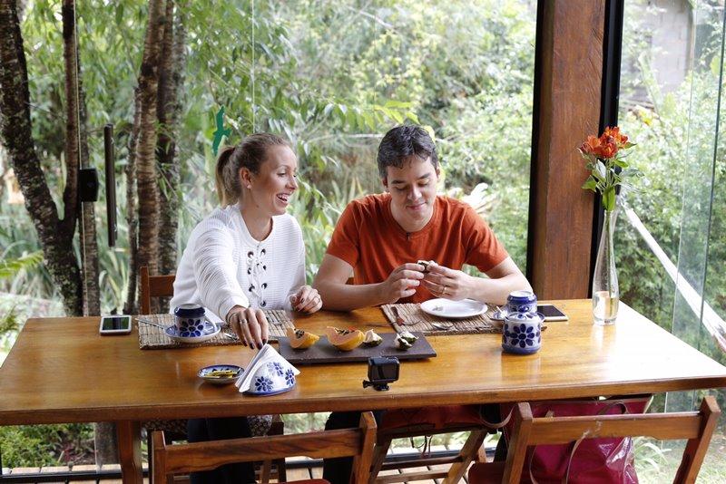 Santo Antônio do Pinhal - Gisella e Fernando cafe da manhã