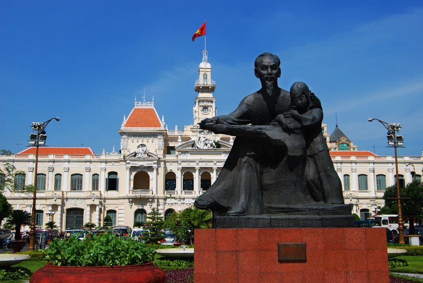 Ho chi Mihn centro prefeitura