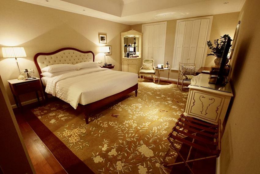 Nosso quarto no Hotel Park Hyatt Saigon Ho Chi Minh